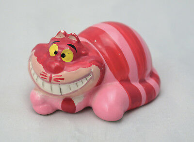 Vintage Japanese Cheshire Cat figurine Disney Alice in Wonderland ceramic