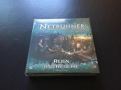 Android Netrunner Reign and Reverie (New and Sealed) *Tiny Dent