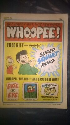 WHOOPEE COMIC No 1, March 9th 1974- very good condition-Beano, Whizzer & Chips
