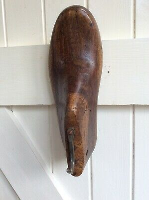 Vintage Wooden Shoe Last upcycled into nice hook