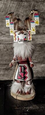 Kachina 8 Inches Tall & Signed by the artist