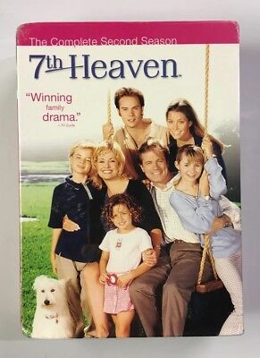 7th Heaven - The Complete Second Season 2 (DVD, 2005, 6-Disc Set)