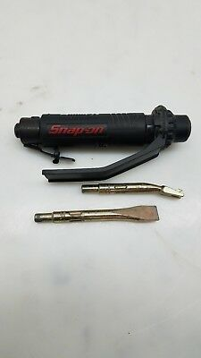 Snap-On Ph2040 In Line Air Chisel With 2 Chisels Gently Used