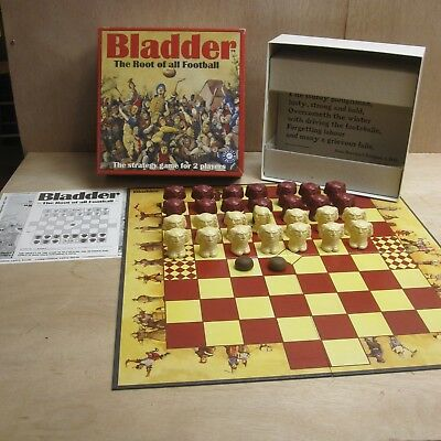 Bladder - Root of Football Strategy Board Game Purkess Brittain Complete