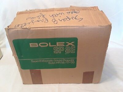 Bolex Sp 8E Super 8 Magnetic Sound Projector