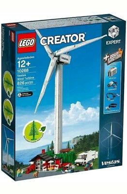 LEGO 10268 Creator Expert Vestas Wind Turbine - BRAND NEW IN BOX, READY TO POST