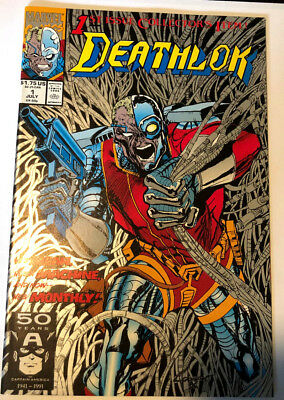 Deathlok #1 (July 1991, Marvel)