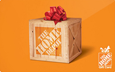 Home Depot  Gift Card $500--Free Shipping Delivery via Mail