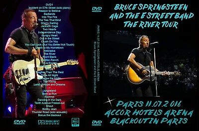 Bruce Springsteen. 2016. Paris First Night. July 11 Th. 2 Dvd.