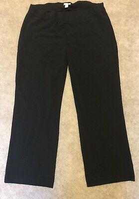 Maternity Dress Pants Size XXL Three Seasons Maternity Black