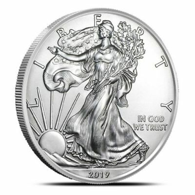 2019 American Eagle Silver Dollar Uncirculated (BU) ☆NOW IN STOCK☆ FREE SHIPPING