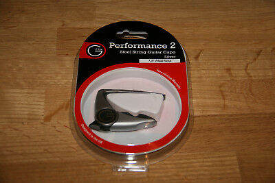 "G7th Performance 2 Capo Kapodaster 7.25"" Vintage Radius"