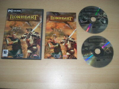 LIONHEART - Legacy Of The Crusader Pc Cd Rom Lion Heart  FAST POST