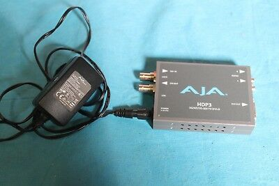 AJA HDP3 3G-SDI To DVI-D Converter/Scaler up to 1080p60 **NEW**