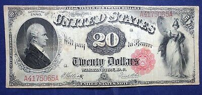 1880 $20 United States Note