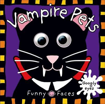Funny Faces: Vampire Pets, Priddy, Roger, Acceptable Book