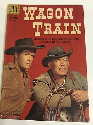 1959 Dell Wagon Train #1019 Ward Bond Robert Horton Very Nice Ungraded Comics