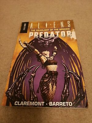 Aliens Predator: Deadliest Of The Species Graphic Novel. Book Two. 1995 Boxtree