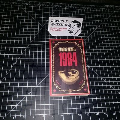 1984 George Orwell Nineteen Eighty-Four Dystopian Sci-Fi Fiction Classic Book