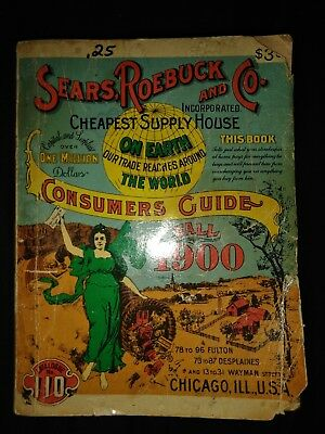 Sears roebuck and company cusumers guide 1900