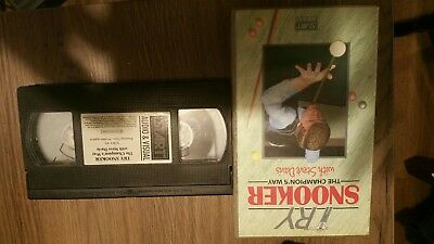 Try Snooker, The Champion's Way with Steve Davis VHS