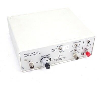 Getting Instruments Digital Stimulus Isolation Amplifier BJN8-9V1