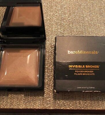 BareMinerals Invisible Bronze Powder Bronzer Tan Nib Full Sz