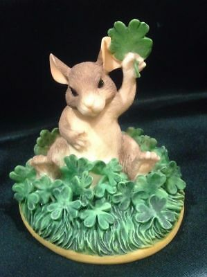 Charming Tails By Dean Griff - Irish -St Patricks Day - Good Luck Sitabout