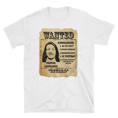 Wanted Trevor Lawrence Clemson Tigers T-Shirt Trevor Lawrence Shirt