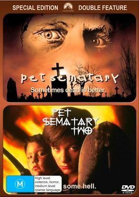 Pet Sematary 2-Movie Collection (DVD, 2019) (Region 4) New Release