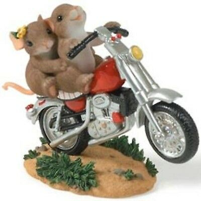 Charming Tails By Dean Griff - Valentines Day -You Wheelie Excite Me(Motorcycle)