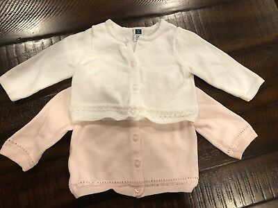 Janie And Jack Baby Girl Sweater Size 0-3 Month