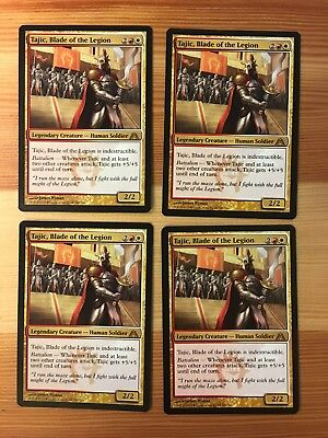 The Redeemed Commander Blade of the Legion FOIL NM Near Mint Feather Tajic