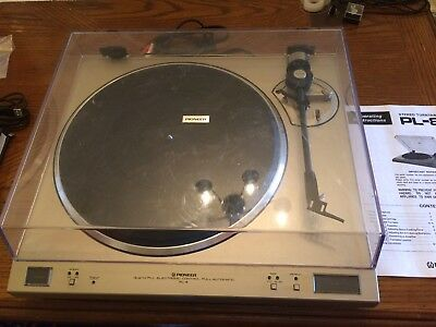 Pioneer PL-8 Direct Drive Turntable