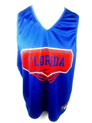 new product f3690 00ece NIKE MENS NCAA Basketball Florida Gators Reversible Jersey L