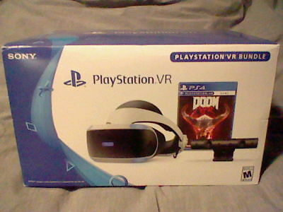 Sony Playstation 4 PS4 VR Doom Edition Bundle Model CUH-ZVR2-Brand New! Sealed!