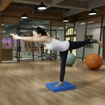 "20"" Balance Training Stability Trainer Nonslip Pad Exercise Cushion Yoga Gym"