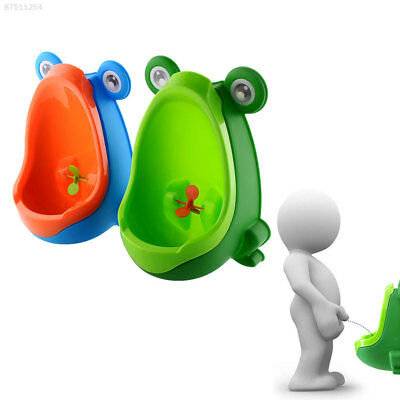 C7A4 Frog-shaped Potty Toilet Kids Urinal Baby Standing Pee Trainer Bathroom
