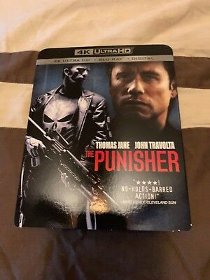 The Punisher 4K UHD Blu-Ray + Blu-Ray Combo Pack with Slipcover
