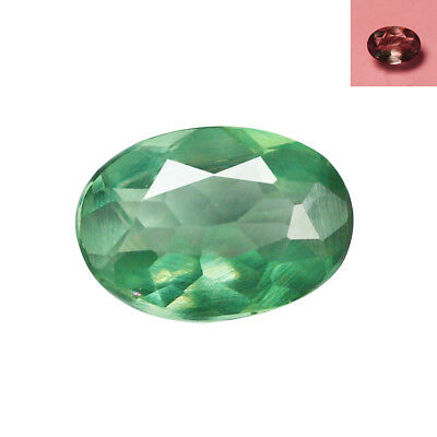 0.31Ct Pretty Oval cut 5 x 4 mm Full Color Cahnge Natural Alexandrite