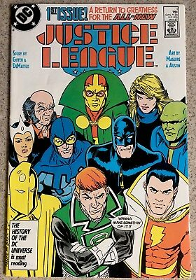 Justice League # 1 DC Comics Shazam Batman Mister miracle