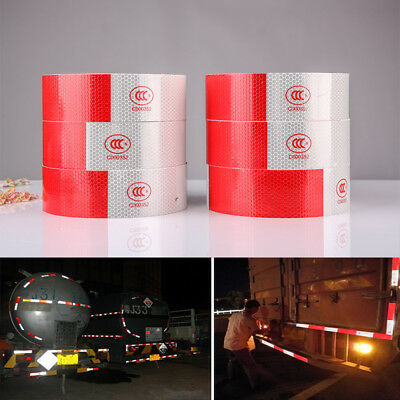 "2""x150' Reflective Conspicuity Tape Safety Strip Sticker Truck Vehicle Trailer"