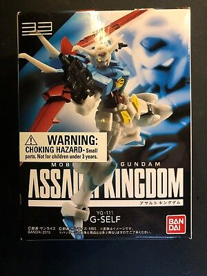 BANDAI GUNDAM Assault Kingdom vol.9 #33 G-Self Sealed Box New