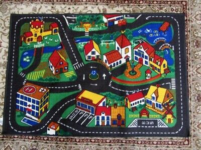 Play Mat Children's Floor Mat Car Room Rug 130cm x 90cm