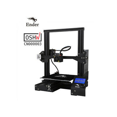 Creality Ender3 3D Printer Resume Print OSHW Certified 220x220x250mm DC 24V 15A