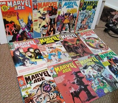 Marvel Age #1 9 10 15 16 20 23 26 27 28 30 31 Comic Book Lot 12 First appearance