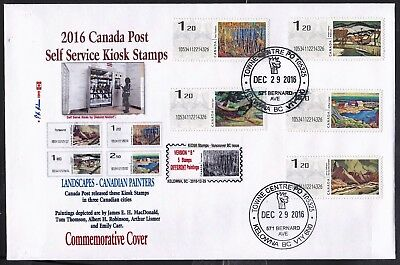 2016 KIOSK Computer Stamp Commemorative Cover - CDN Picture Postage
