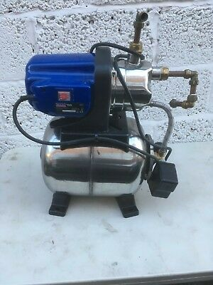 sealey Surface Water Pump53L/Min Stainless Steel Body Booster Pump