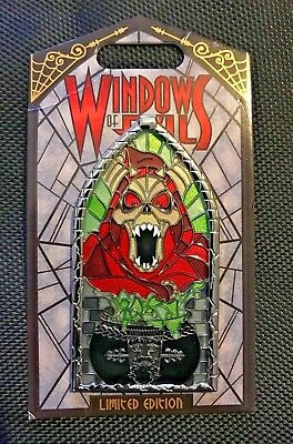 Disneyland Exclusive Windows Of Evil *Horned King* LE Pin