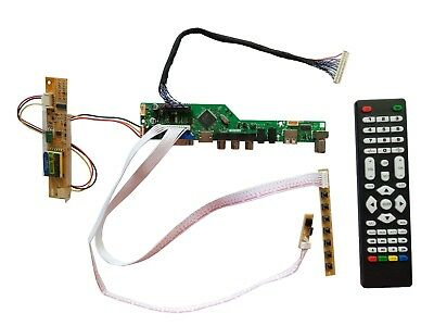 Kit for   LTN170BT08  TV+HDMI+VGA+USB LCD LED screen Controller Driver Board